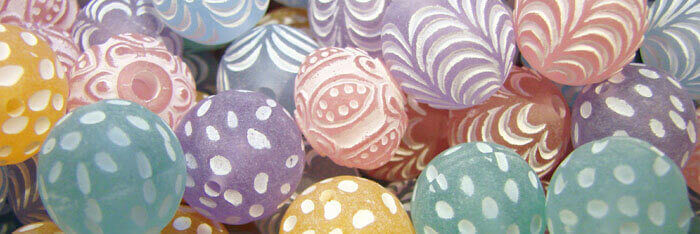 Matte Beads for Jewelry Making
