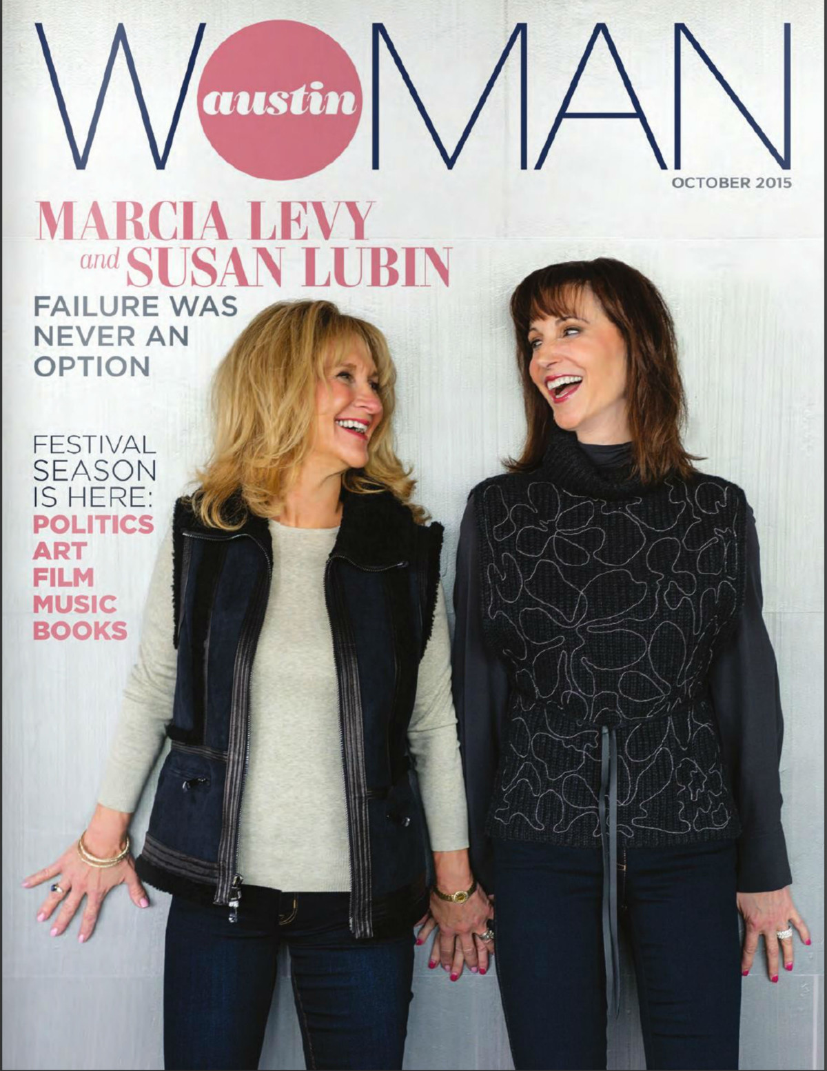 Austin Woman Magazine October 2015 Cover Shoot