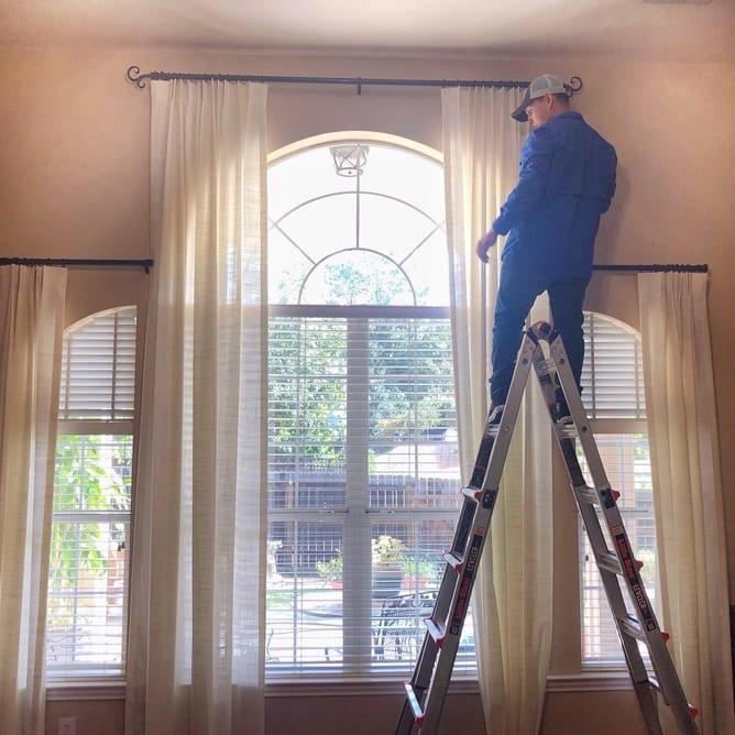 drapery installation services in austin tx