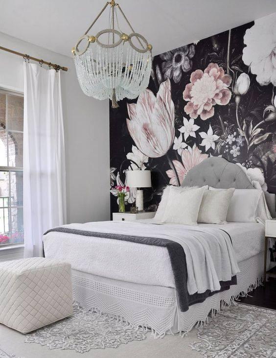 grey curtains bedroom ideas