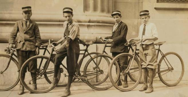 Let's use the bicycles to make our point!