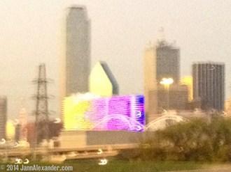 Dallas Highway Skyline by Jann Alexander © 2014