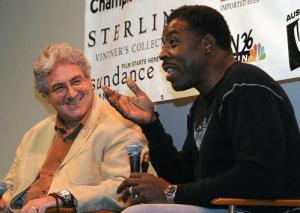 Harold Ramis and Ernie Hudson at AFF 2005