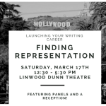Launching Your Writing Career: Finding Representation