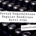 First Wave of Script Competition Judges Announced!