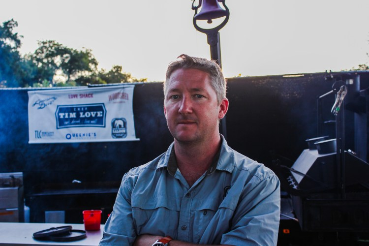 Chef Tim Love at Austin City Limits Festival