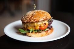 Geraldine's cheese burger