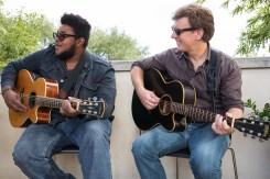 Musicians Kalu James & Bruce Smith