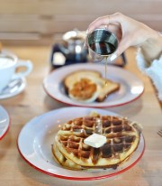 8 Spots to Get the Best Waffles in Austin