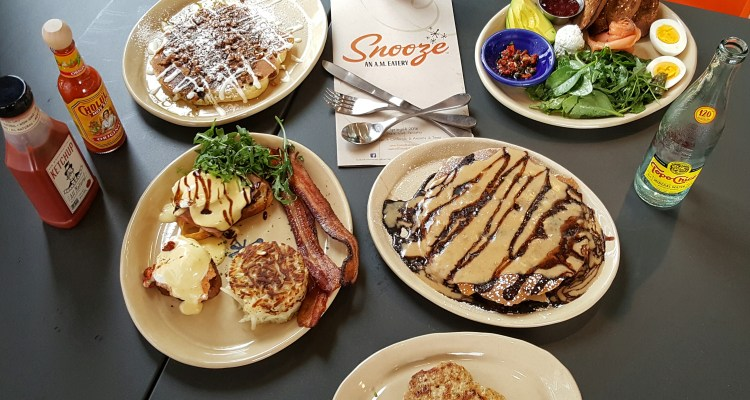 Snooze Eatery pancakes