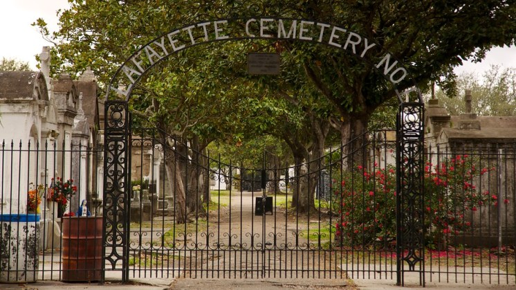 Lafayette Cemetary New Orleans
