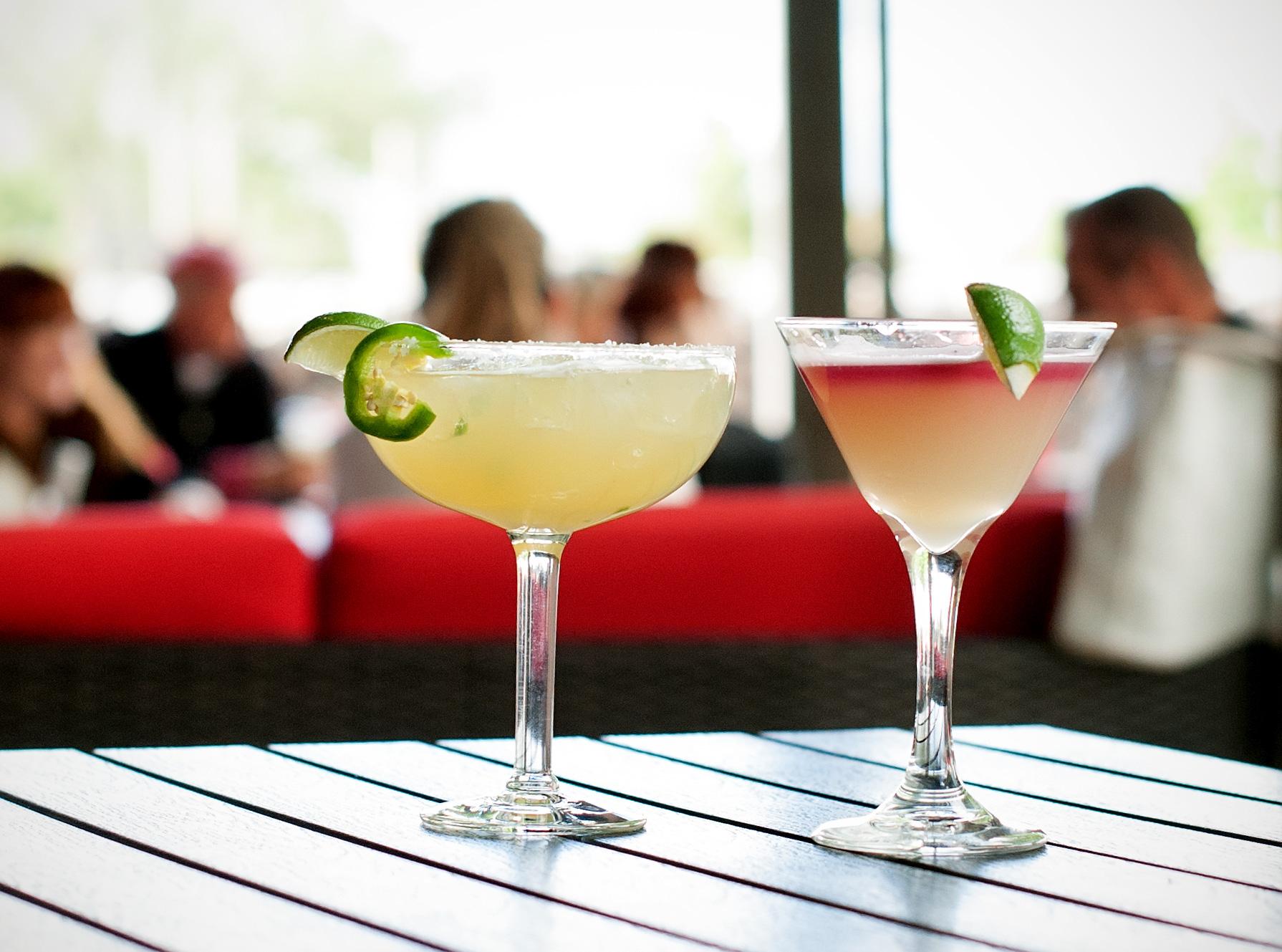 Margaritas at Derailed