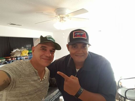 Michael Symon and Hayden Walker