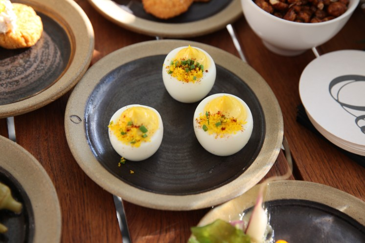 Olamaie Deviled Eggs
