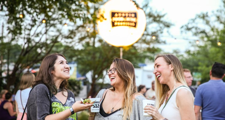 Austin Food and Wine - Lone Star Nights - Shayda and ladies