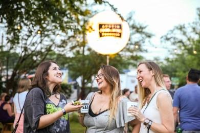 Austin Food and Wine - Lone Star Nights - Shayda and ladies