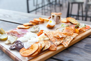 Blind Butcher Meat and cheese board