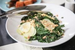 Trace Brunch kale salad