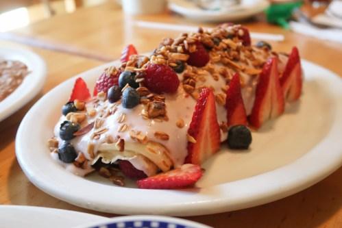Pancake roll - Pete's Breakfast Ventura County