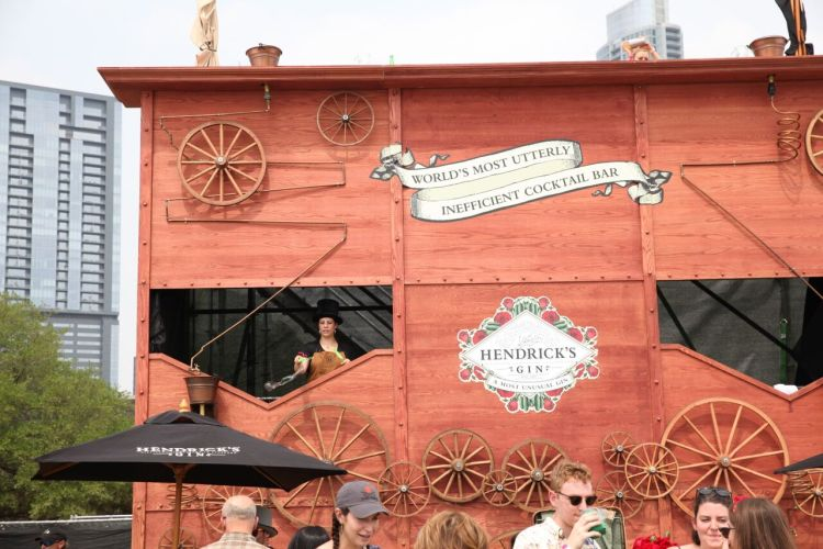 hendricks gin austin food + Wine festi