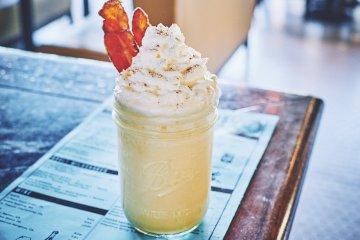 Malted Maple Royale Milkshake
