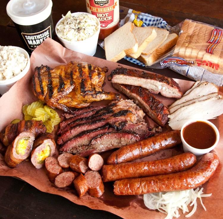 Southside Market Meat Platter