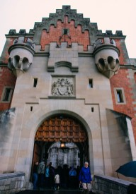 The Entrance to Neuschwanstein Castle