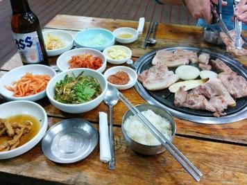 Jeju Black Pig Barbecue