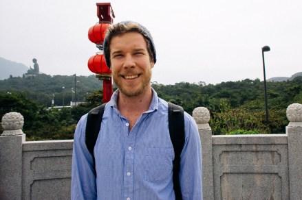 Hanging out on Lantau Island