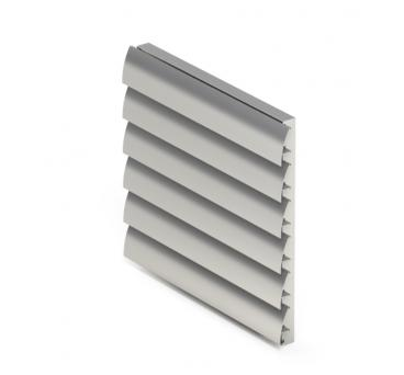 Decorative louvres design