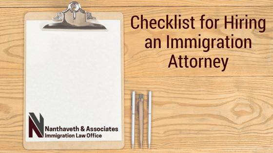 Checklist for Hiring an Immigration Attorney Austin Texas