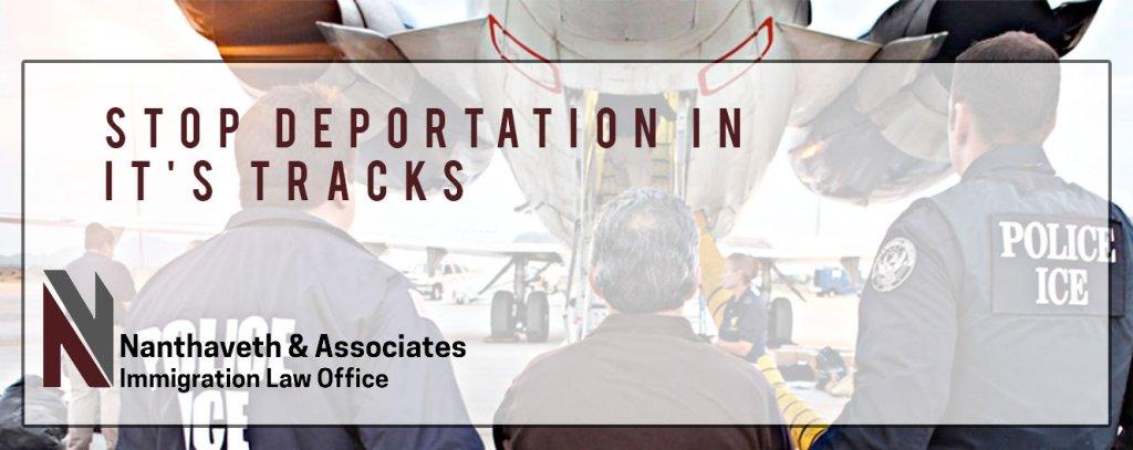stopping deportation