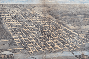 Austin Map - 1873