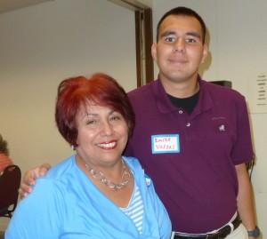 2015 Scholarship recipient Emilio Vargas.
