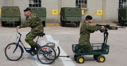 Combat Tricycle