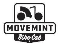 Movemint Bike Cab Badge Logo