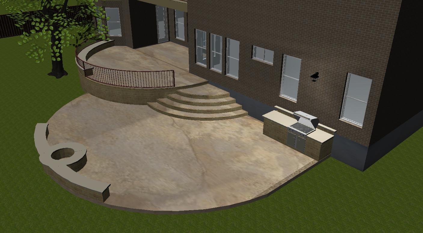tiered patio designs austin tx austin