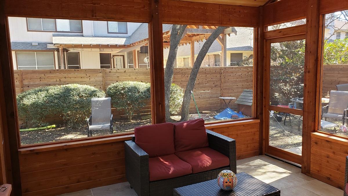screened porches austin decks