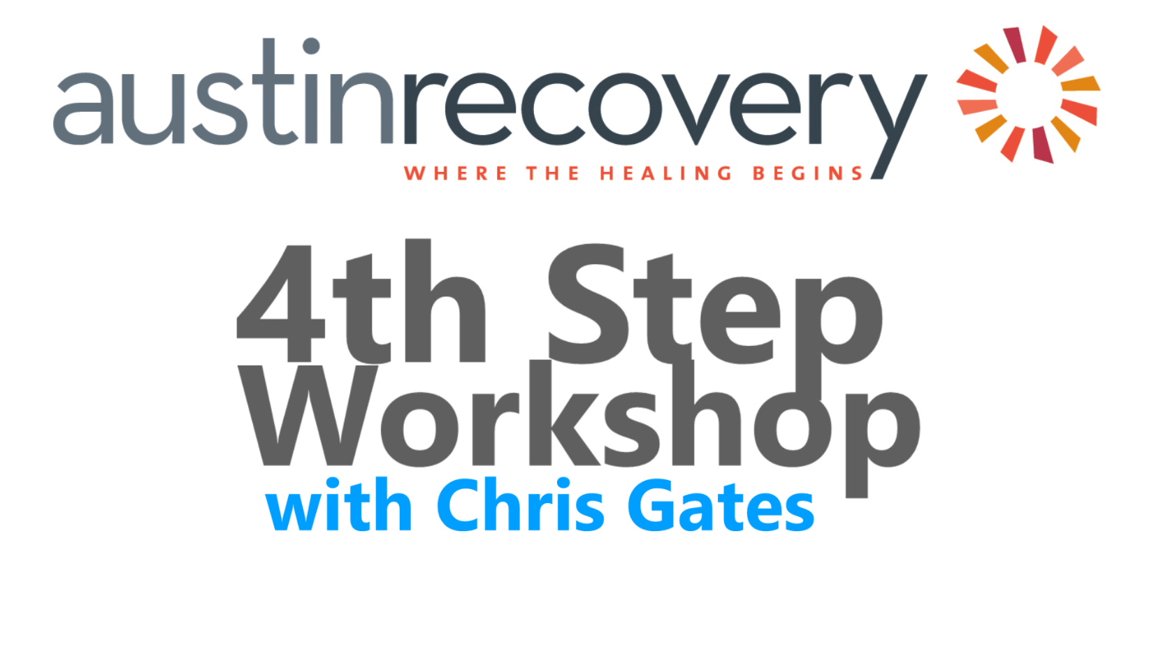 4th Step Workshop