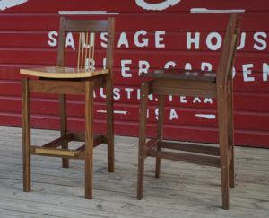 bangers austin custom barstools Philip Morley