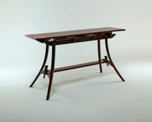 award winning custom fine wood furniture by aaron fox at Austin School of furniture and design