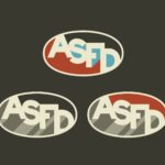 Furniture School colored oval logo concepts Austin School of Furniture and Design