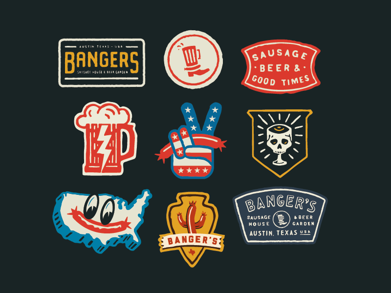 graphic design logos branding curtis jinkins neighborhood studio
