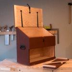 Dutch tool chest on workbench by Patrick Brennan