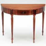 Demilune Hall Table by Aspen Golann