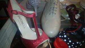 Entonces shoes at Tango Tana