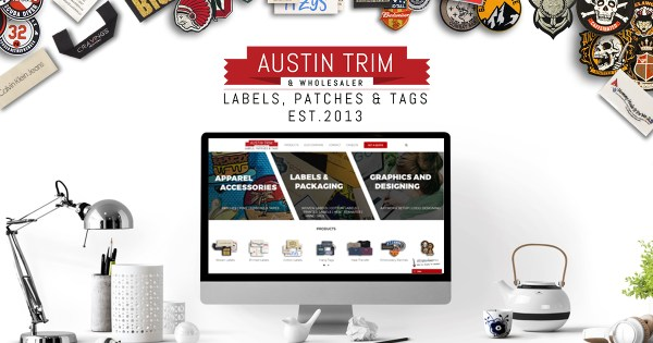 Austin trim | Best Quality Woven Labels in USA | Cloth Labels | Clothing Tags & More
