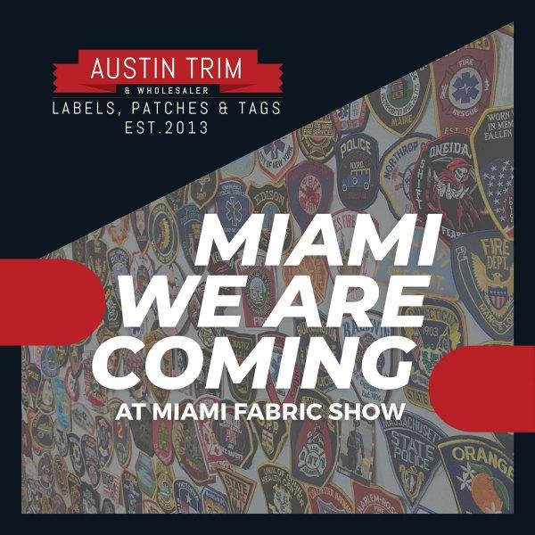 Austin Trim is going to miami fabric show