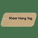Shear shaped