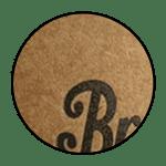 Kraft paper- rustic or outdoor feel